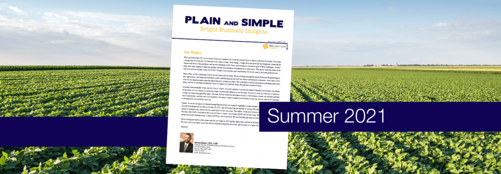 Plain & Simple Newsletter   Ohio CPA Firm