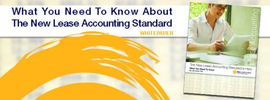 The New Lease Accounting Standard Is Here