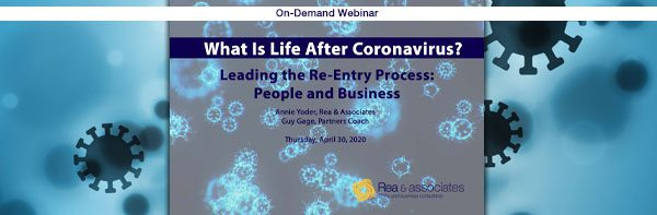 What Is Life After Coronavirus?   Leading The Re-Entry Process   Ohio CPA Firm